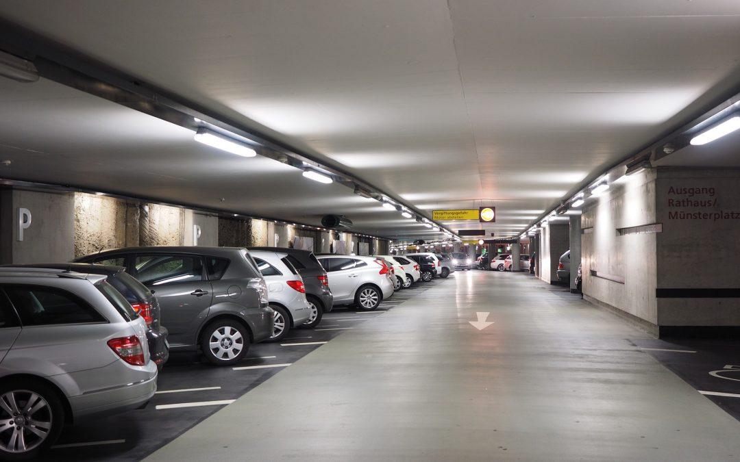 Sanción por no retirar la cámara de grabación en aparcamiento